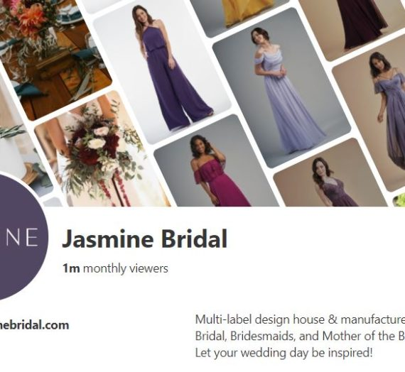 Jasmine Bridal Hits 1M Monthly Views On Pinterest
