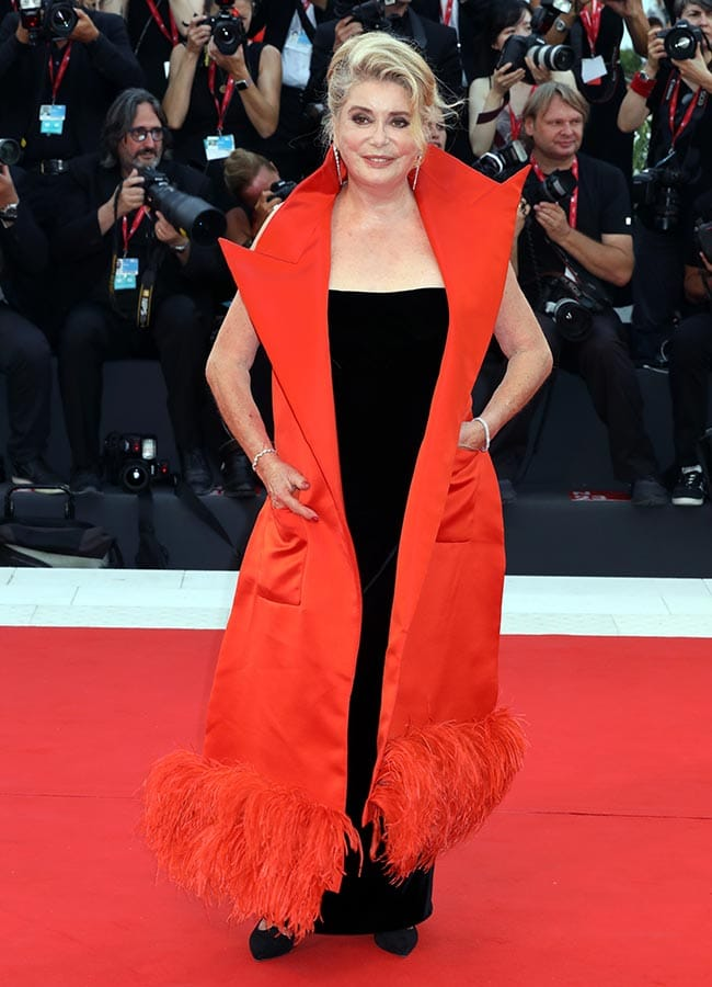 Color Blocking-Catherine Deneuve-Venice Film Festival 2019