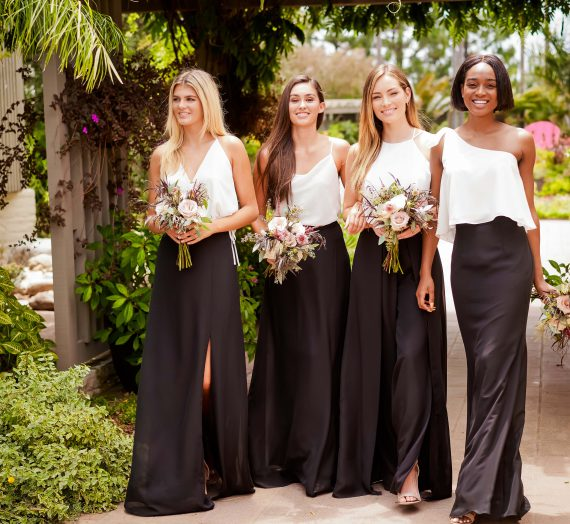 Bridesmaids Get a Brush Up