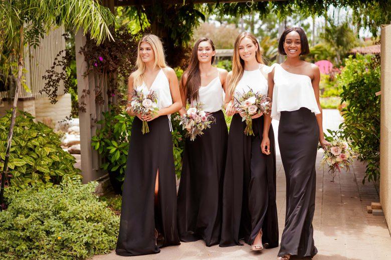 Bridesmaids Get a Brush Up