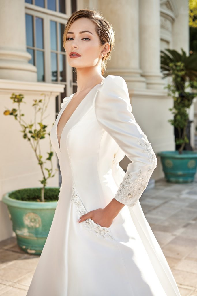 2020 Wedding Trends-Boxy Shoulders-Jasmine Couture Spring 2020-T222003