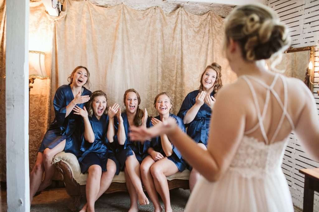 Wedding Dress Shopping Tips- Invite Your Squad