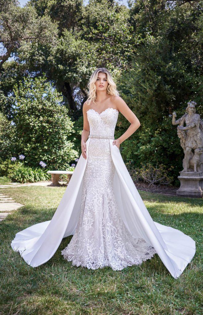 Jasmine Spring 2020 bridal gown- Jasmine Collection F221010 + YB701