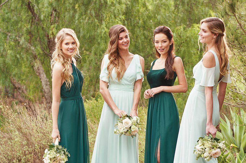 Bridesmaids Dresses- Mix and Match B2 Bridesmaids