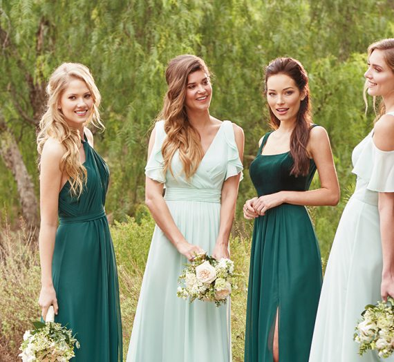 It's Time for Velvet Bridesmaid Dresses
