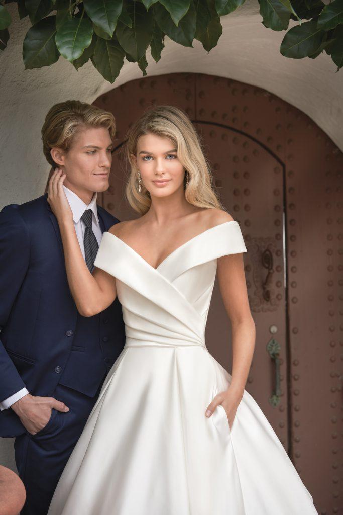2020 Golden Globes Fashion- Off-the-Shoulder