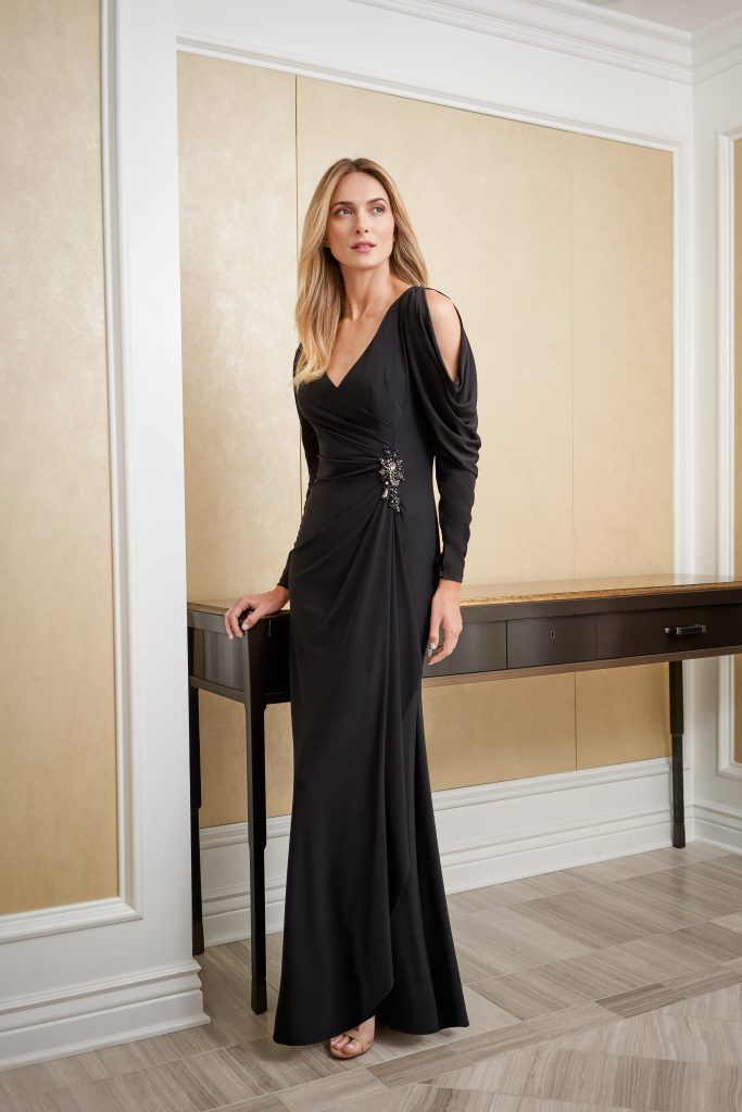 Statement Mother of the Bride Dress- J225007