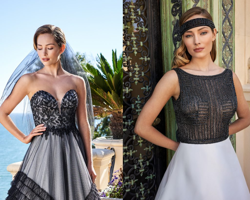 Black Wedding Accessories- Jasmine Couture