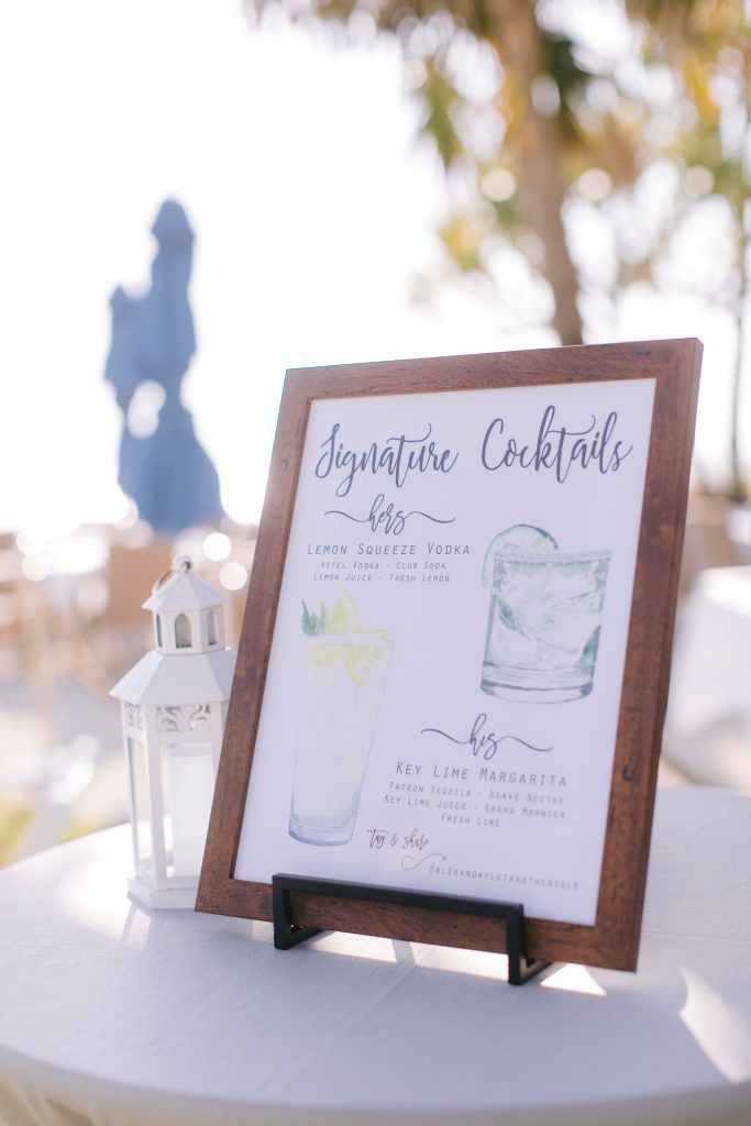 Signature Cocktail- Ways to Personalize Your Wedding