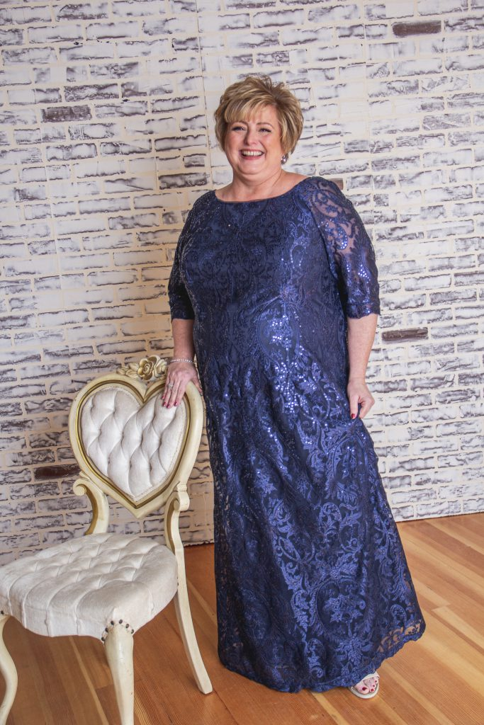 Curvy Mother of the Bride Dresses- K208007
