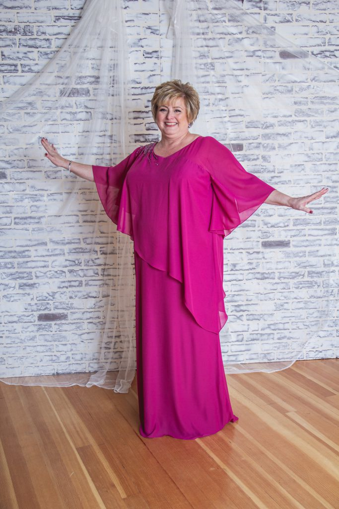Plus-Size Mother of the Bride Dresses- M2210001