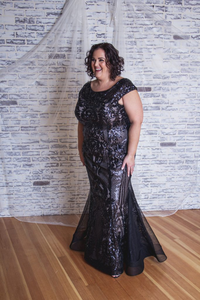 Plus-Size Mother of the Bride Dress