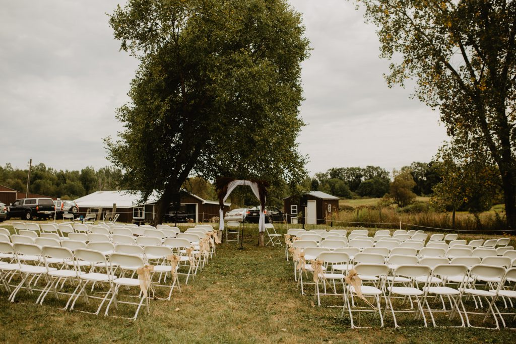 Free-Spirit Rustic Summer Wedding