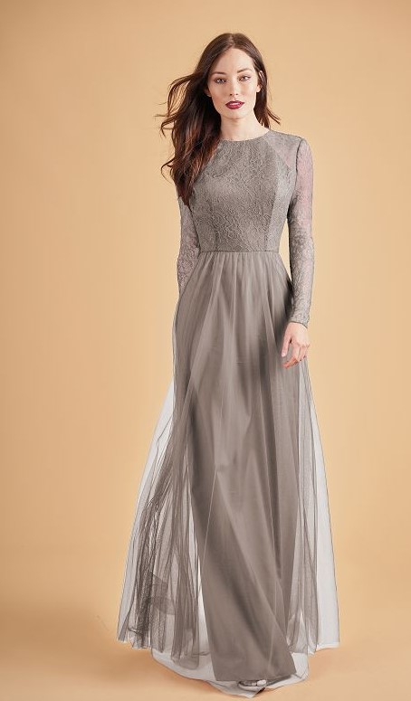 Winter Wedding Guest Dresses- Long Sleeves