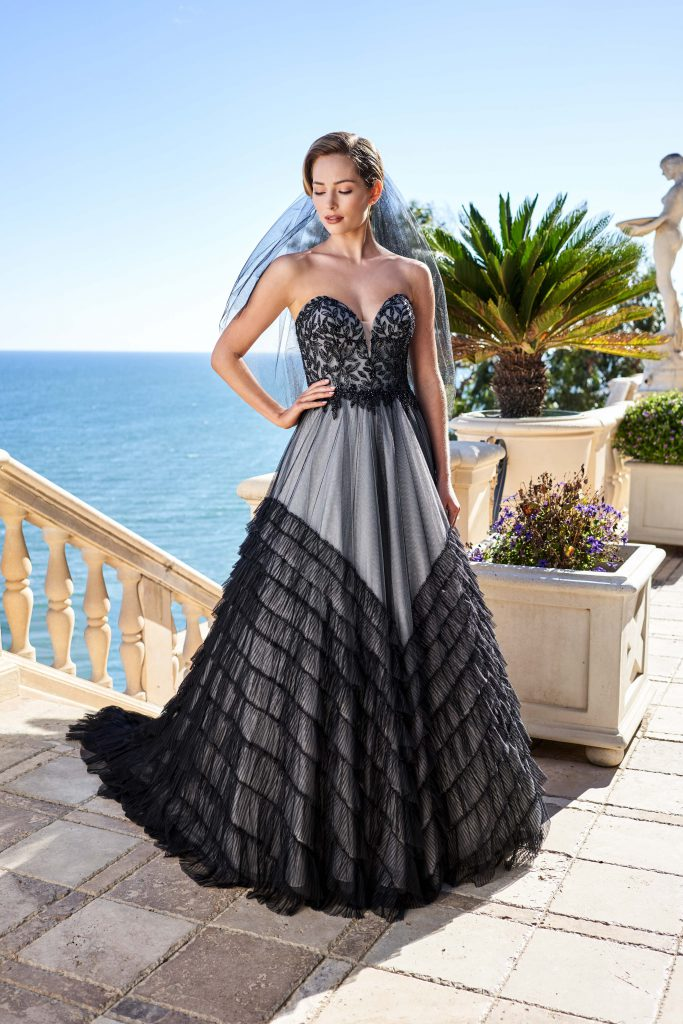 Strapless Sweetheart Ballgown Style T222011