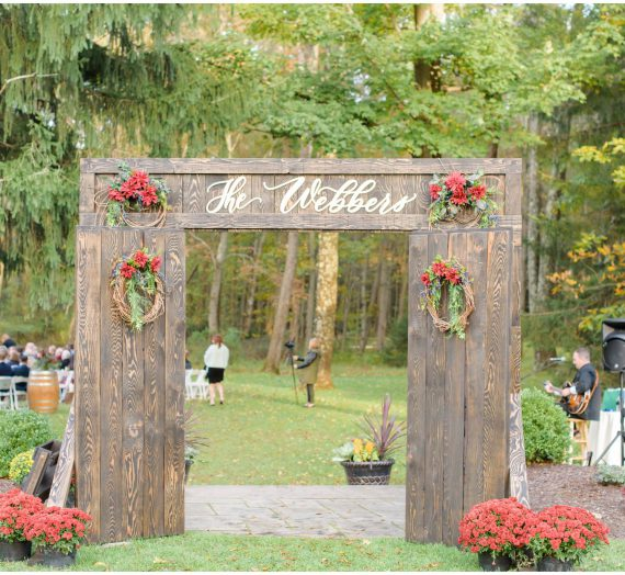 Rustic Wedding Decor for Any Season