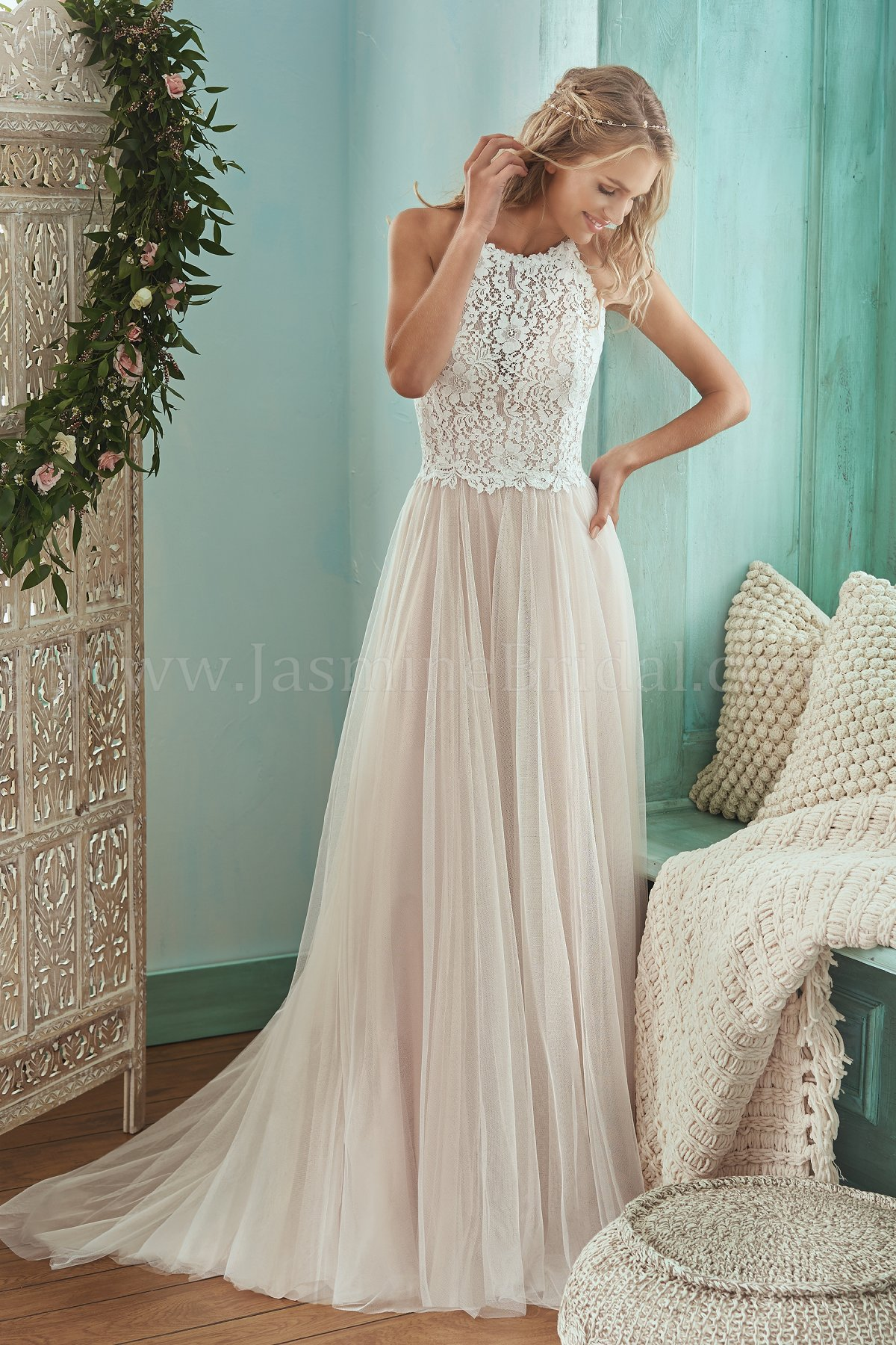 Beach Wedding Dresses-Lightweight, airy and romantic dresses-Jasmine ...