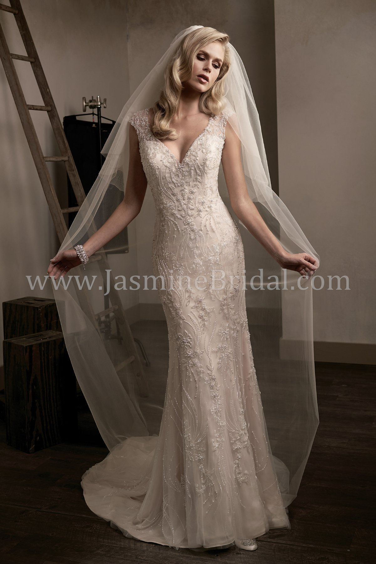 Inspired Vintage Wedding Dresses-Unique Lace Dress Styles at Jasmine ...