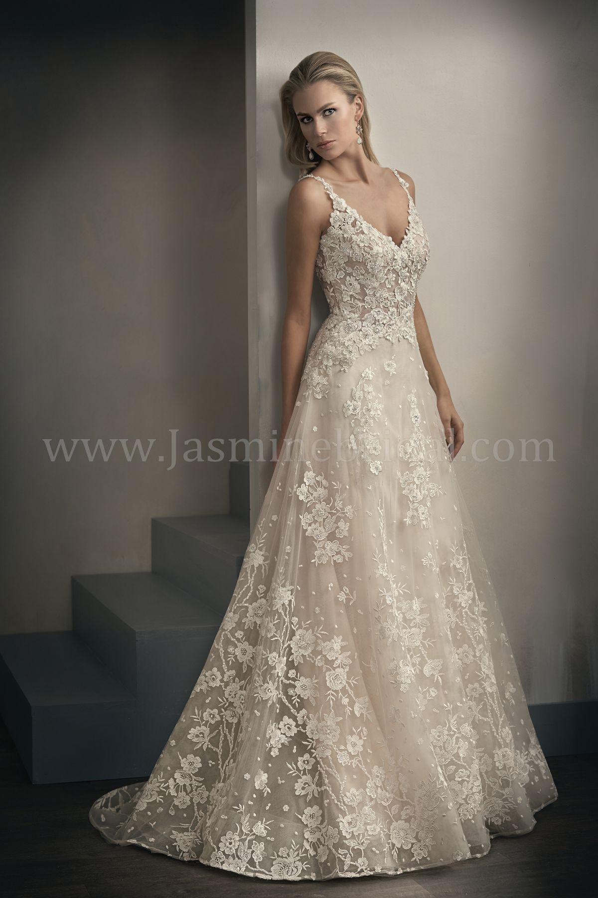 WEDDING DRESSES - Lace And Sheer Wedding Dresses