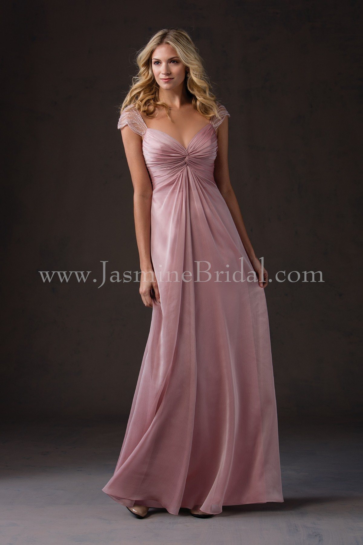 L184053 long sweetheart neckline belsoie tiffany chiffon l184053 long sweetheart neckline belsoie tiffany chiffon bridesmaid dress ombrellifo Images