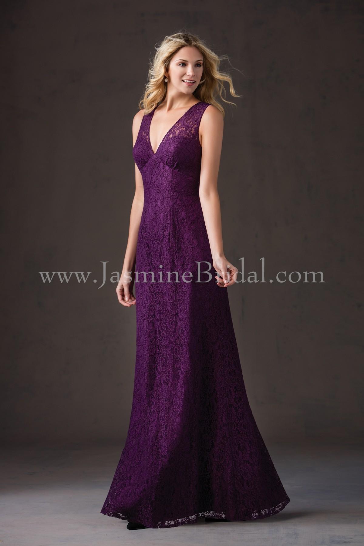 L184064 long v neck lace bridesmaid dress ombrellifo Choice Image