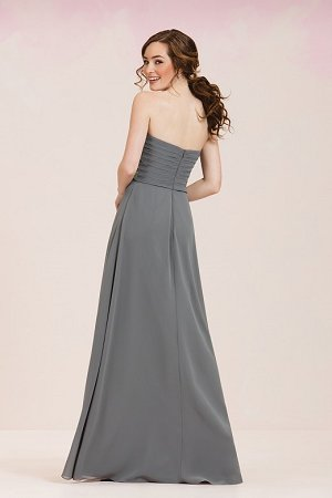38f08bf041ec P186057 Long Sweetheart Strapless Georgette Bridesmaid Dress