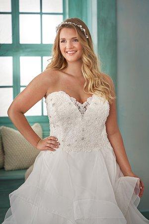 52859359d3 Plus Size Brides   JASMINE BRIDAL