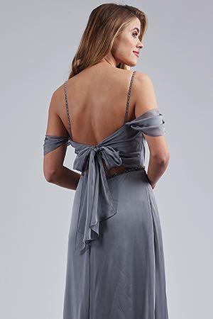 633a1e033c3 L214054. L214054. Beautiful belsoie tiffany chiffon floor length bridesmaid  dress ...