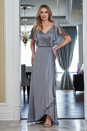 7410ea19648 J215055. J215055. Jade tiffany chiffon Mother of the Bride dress ...