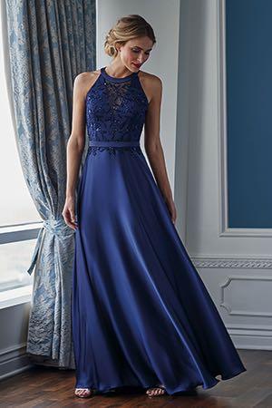 f4aff40441f K218055. K218055. Couture satin face chiffon dress ...