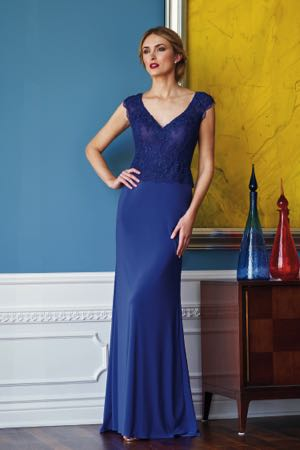 3797264970 K218053. Beautiful lace and matte jersey Mother of the Bride dress ...