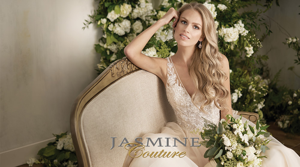 Elegant, Informal & Casual Simple Wedding Dresses-Jasmine